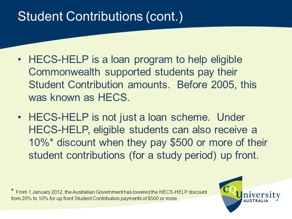 Student Contributions (cont.)