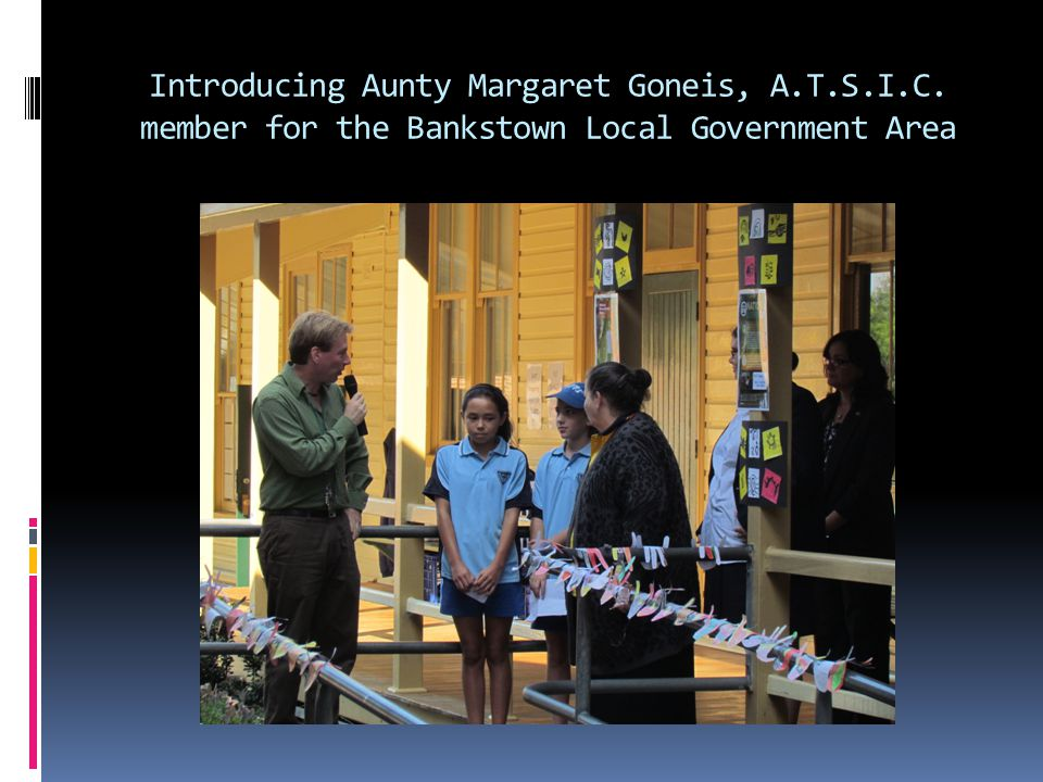 Introducing Aunty Margaret Goneis, A. T. S. I. C