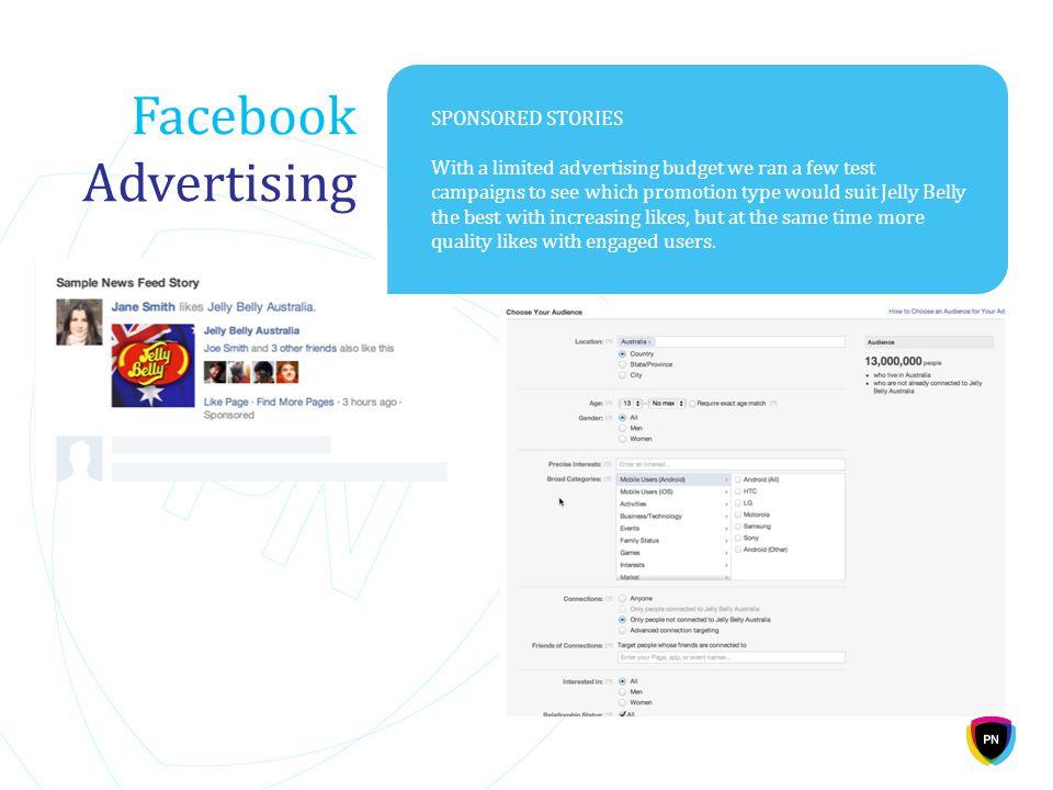 Facebook Advertising SPONSORED STORIES