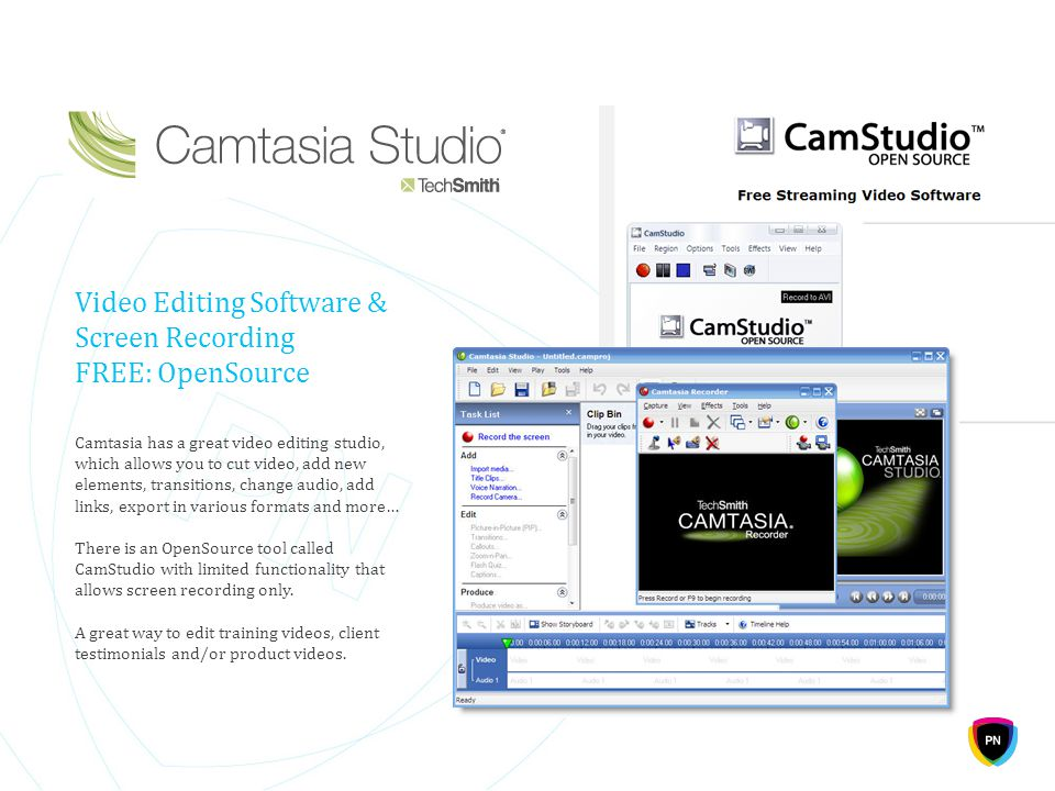 Video Editing Software & Screen Recording FREE: OpenSource