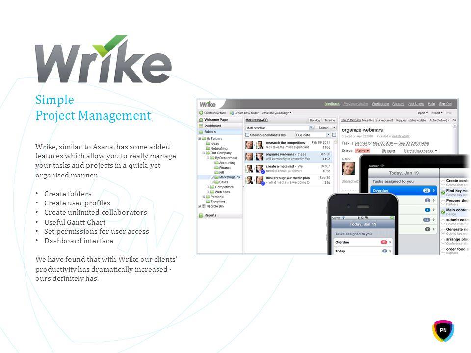 Simple Project Management