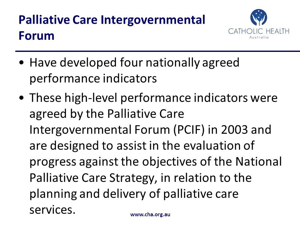 Palliative Care Intergovernmental Forum