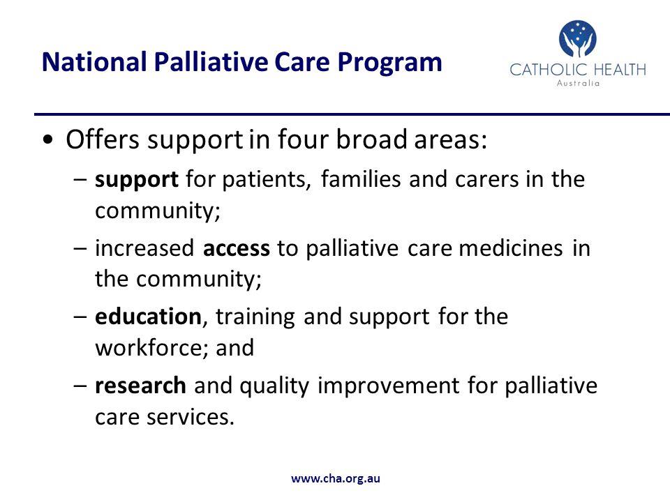 National Palliative Care Program
