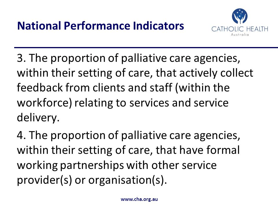 National Performance Indicators