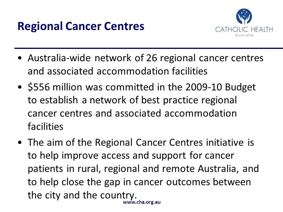 Regional Cancer Centres