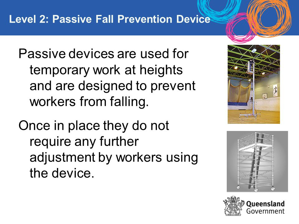Level 2: Passive Fall Prevention Device