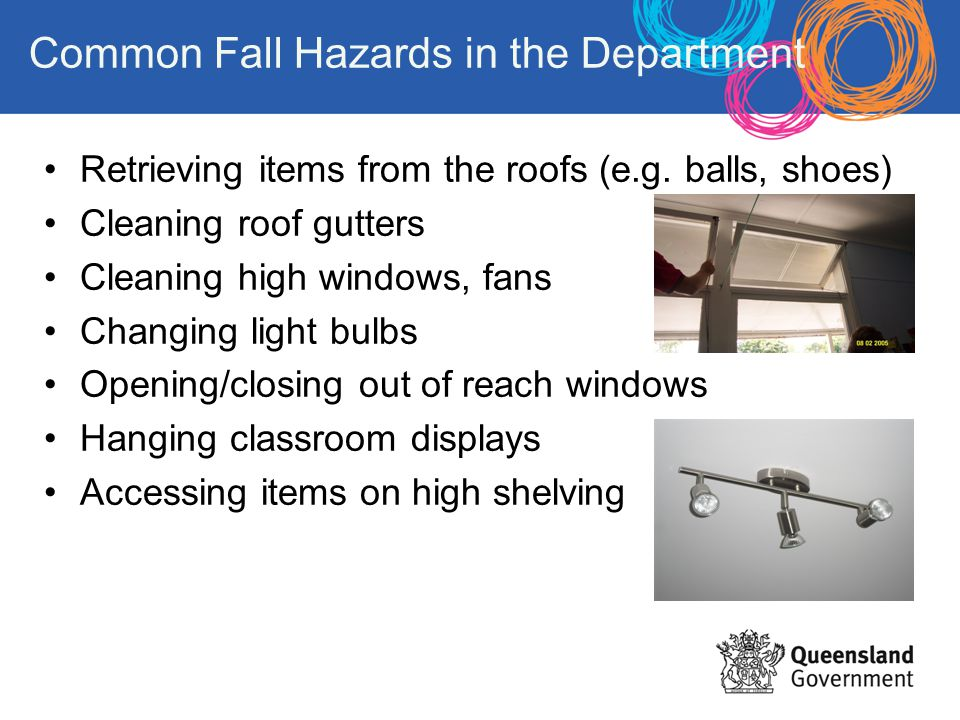 Common Fall Hazards in the Department