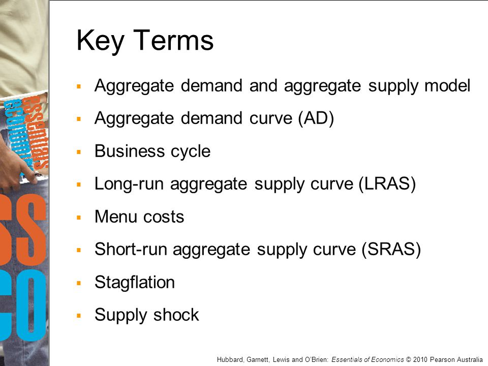 Key Terms Aggregate demand and aggregate supply model