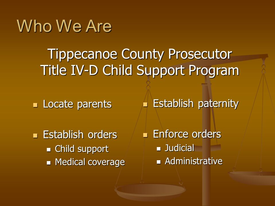 Who We Are Tippecanoe County Prosecutor