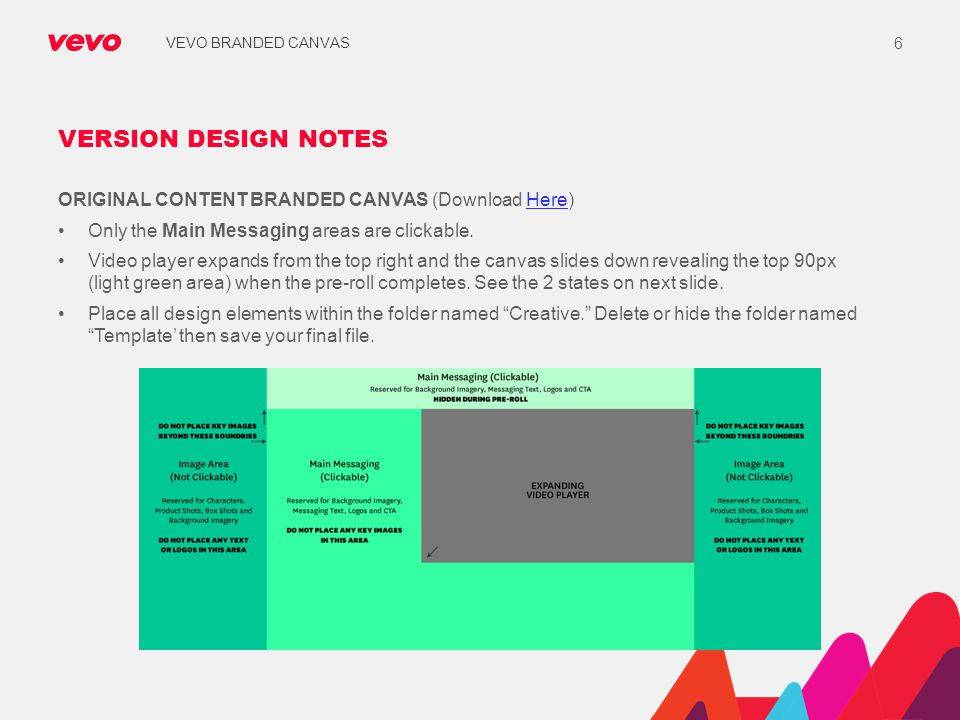 VERSION DESIGN NOTES ORIGINAL CONTENT BRANDED CANVAS (Download Here)