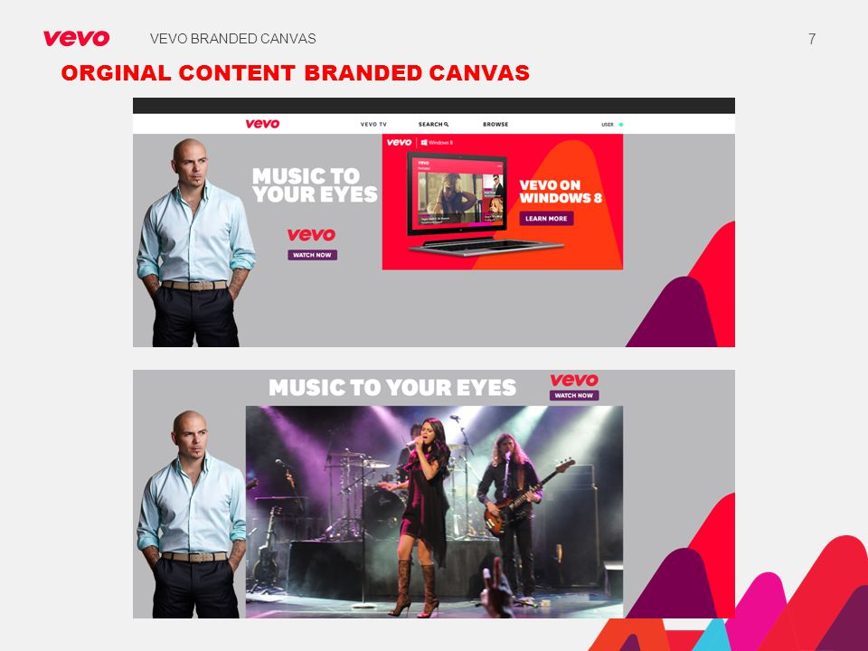 ORGINAL CONTENT BRANDED CANVAS