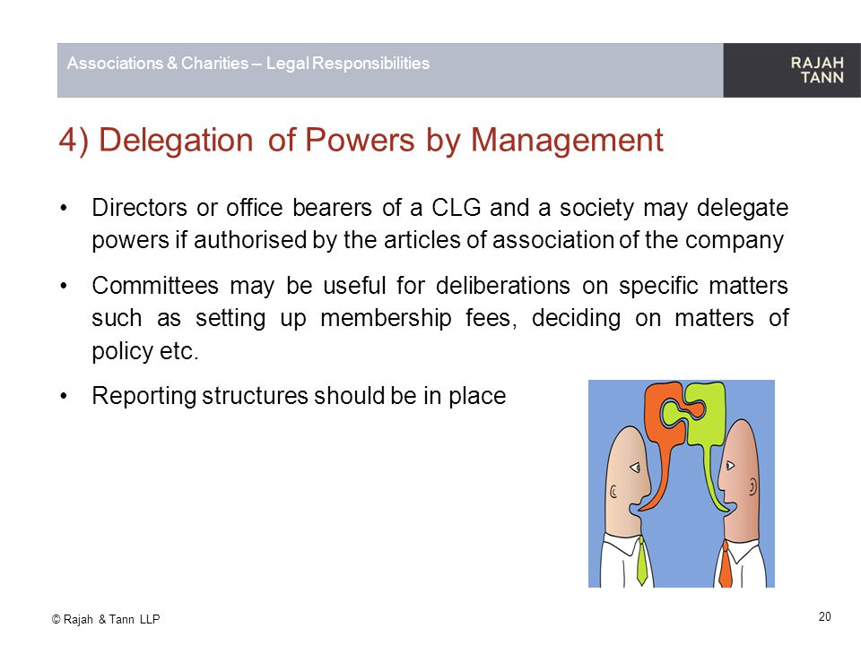 4) Delegation of Powers by Management