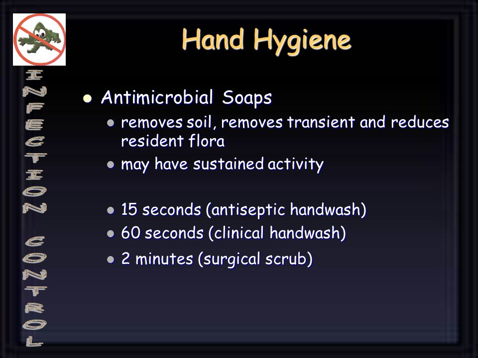 Hand Hygiene Antimicrobial Soaps