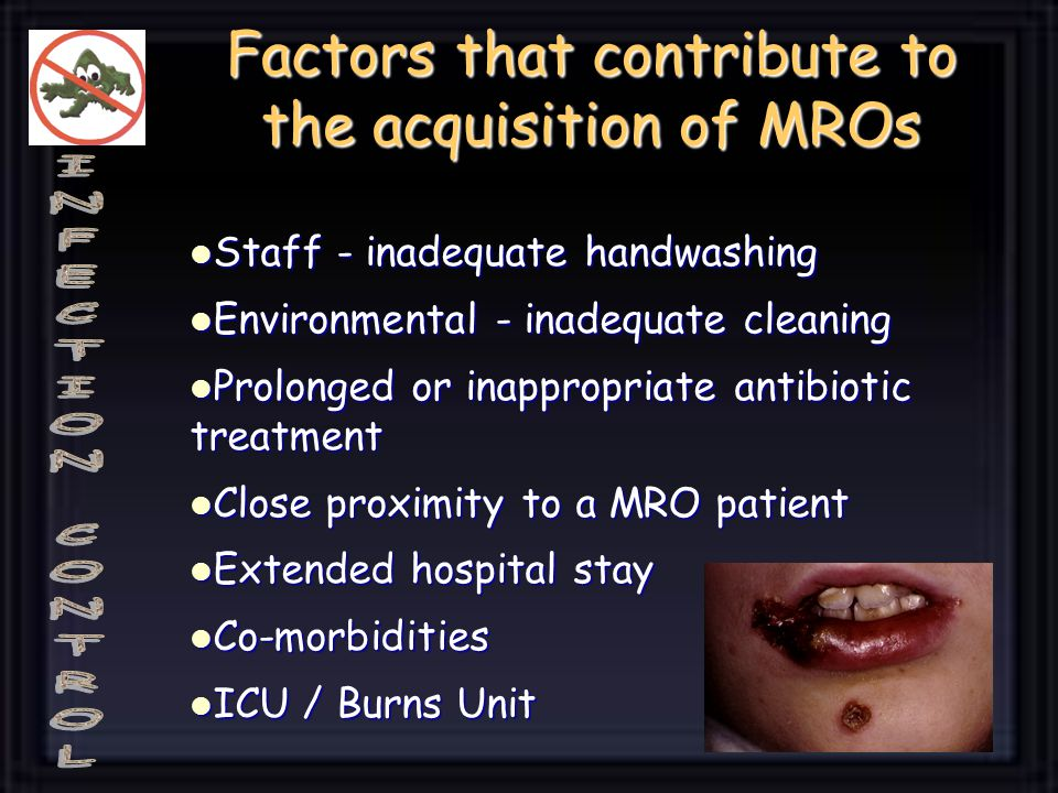 Factors that contribute to the acquisition of MROs