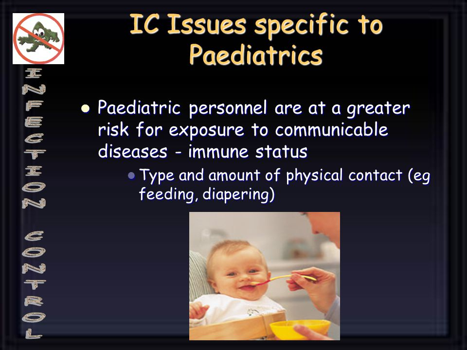 IC Issues specific to Paediatrics