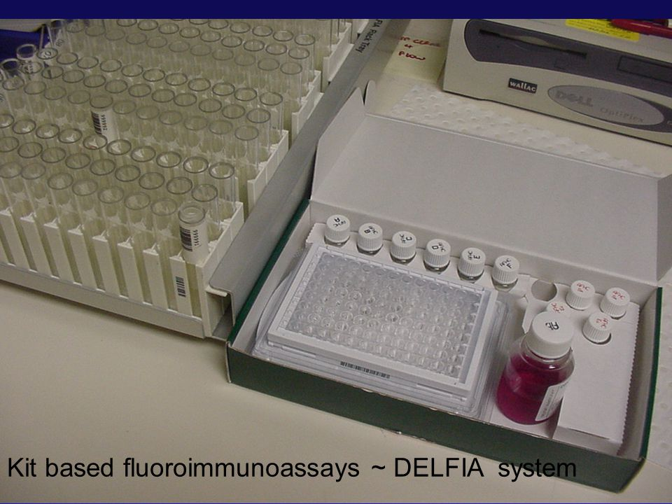 Kit based fluoroimmunoassays ~ DELFIA system