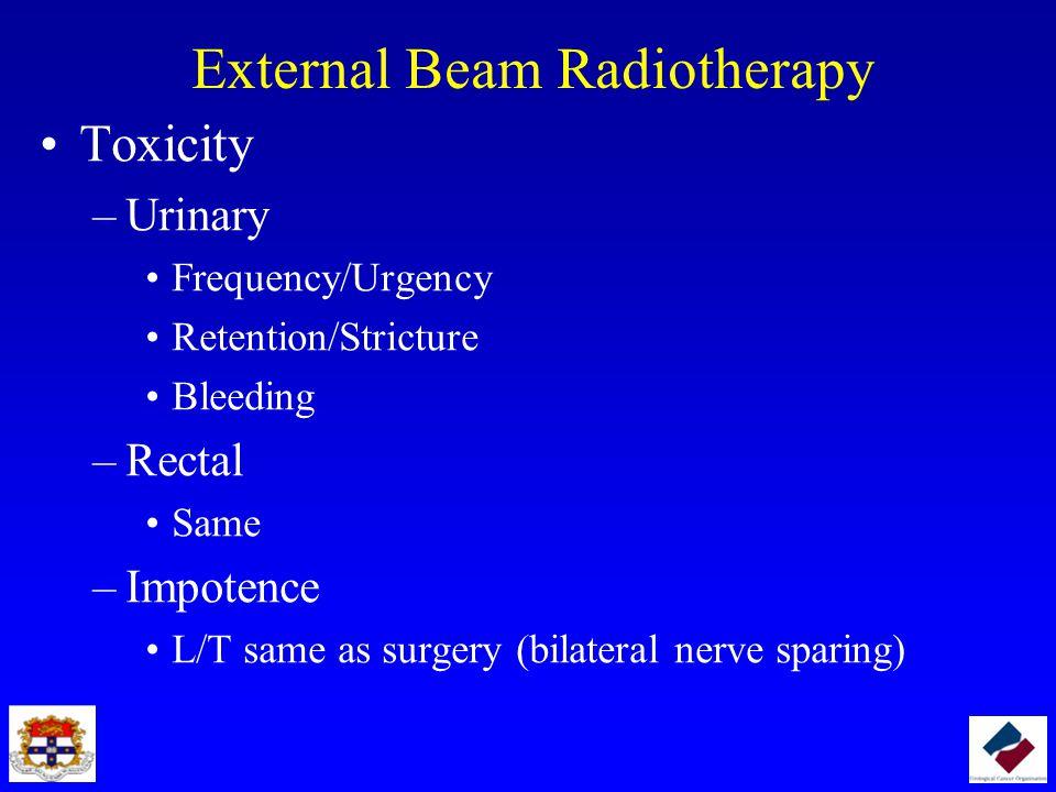 External Beam Radiotherapy