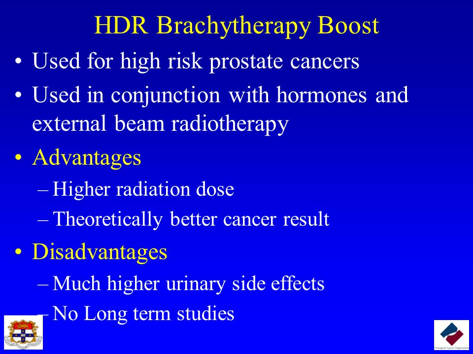 HDR Brachytherapy Boost