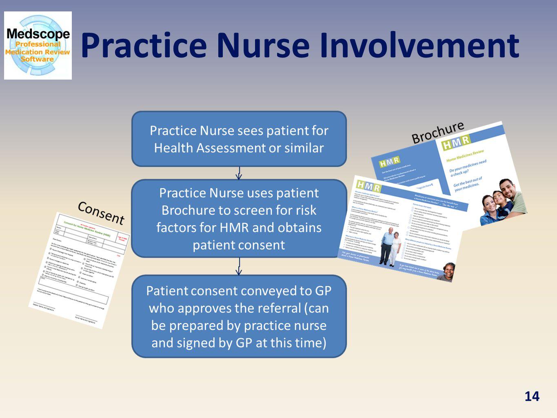 Practice Nurse Involvement