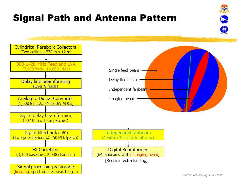Signal Path and Antenna Pattern