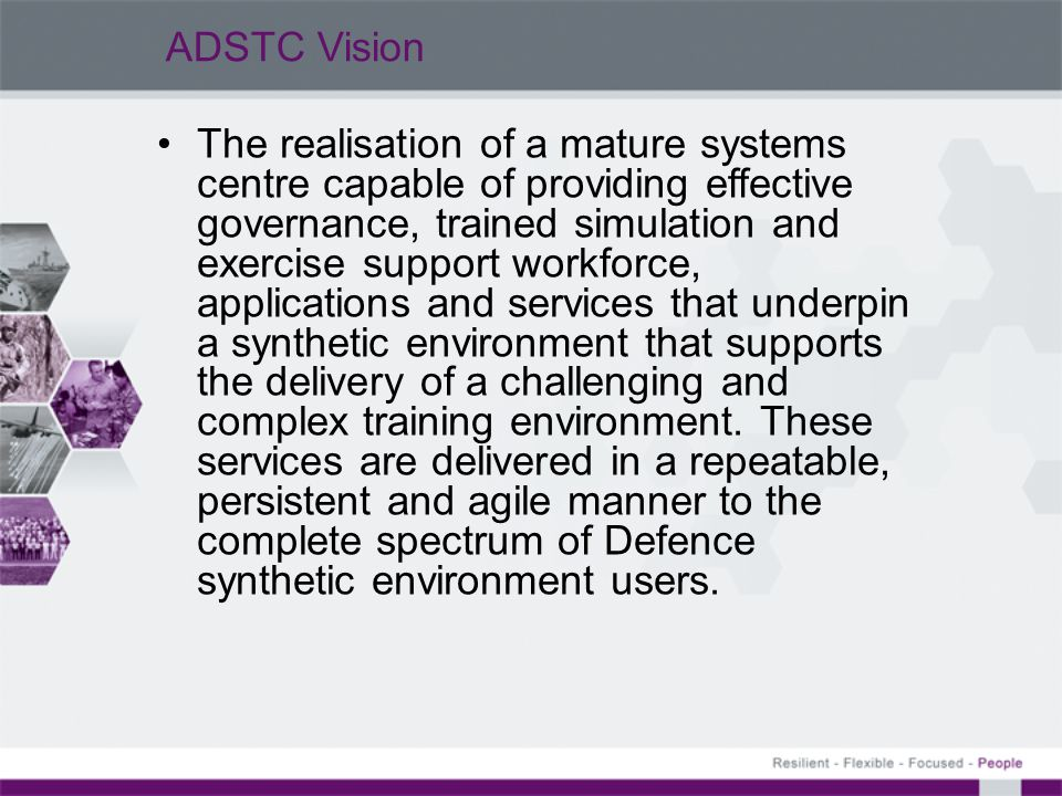 ADSTC Vision