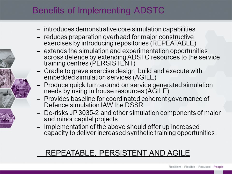 Benefits of Implementing ADSTC