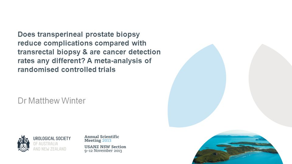 Does transperineal prostate biopsy reduce complications compared with transrectal biopsy & are cancer detection rates any different A meta-analysis of randomised controlled trials