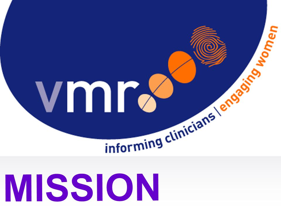 6/04/2017 The Victorian Maternity Record (VMR) project has two simple goals – to inform clinicians and to engage women.