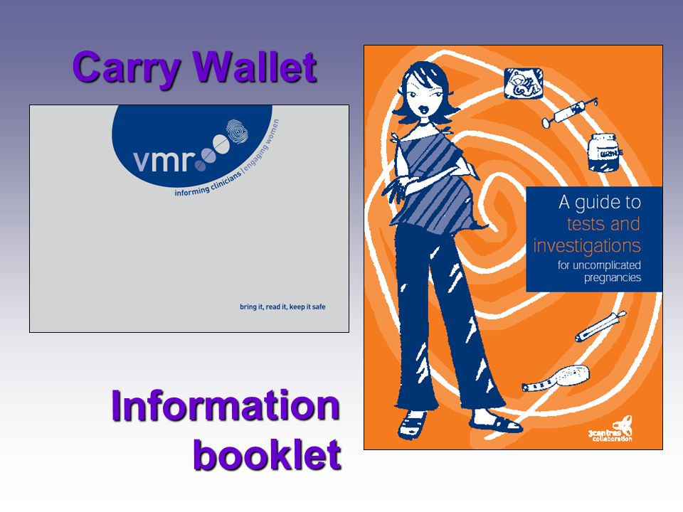 Carry Wallet Information booklet