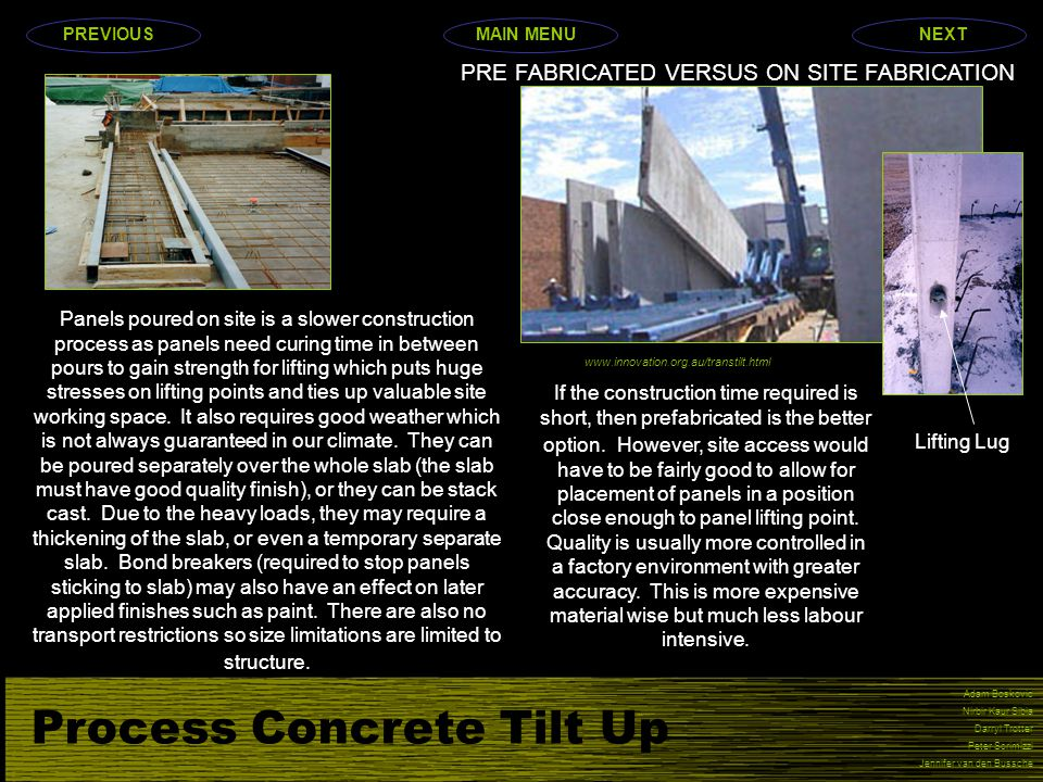 PRE FABRICATED VERSUS ON SITE FABRICATION