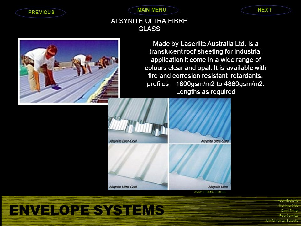 ALSYNITE ULTRA FIBRE GLASS