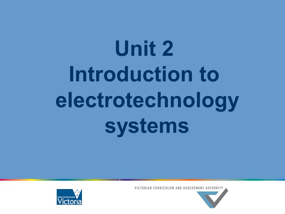 Introduction to electrotechnology systems
