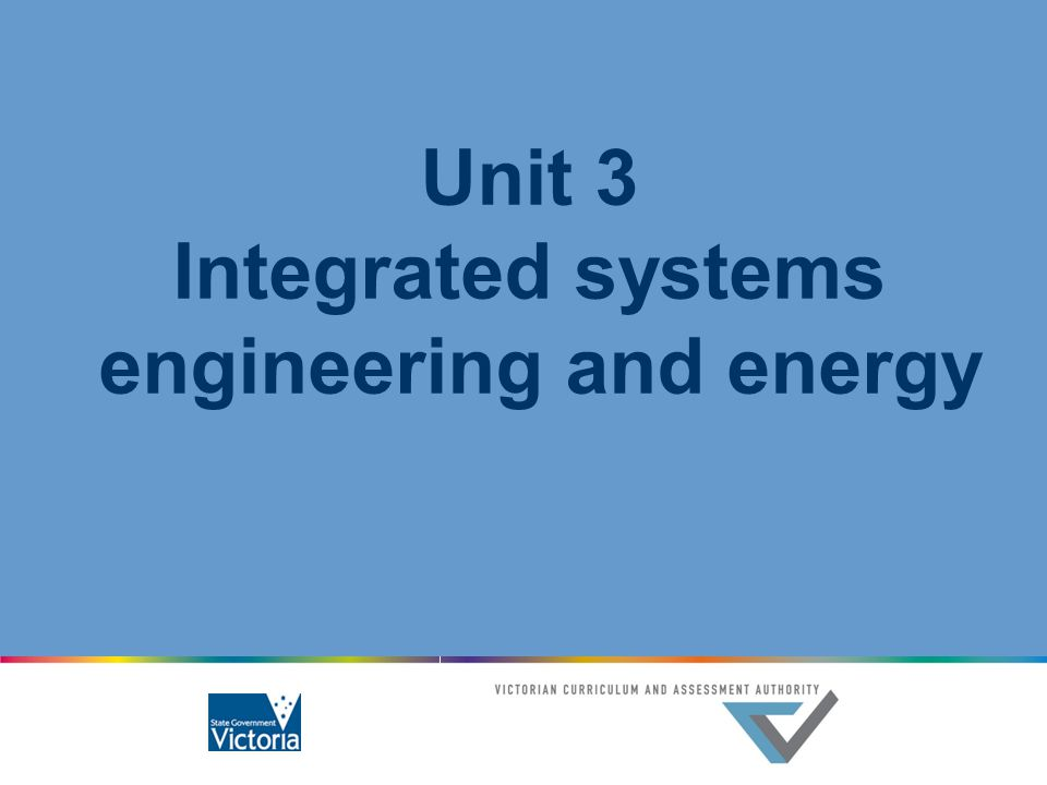 Integrated systems engineering and energy