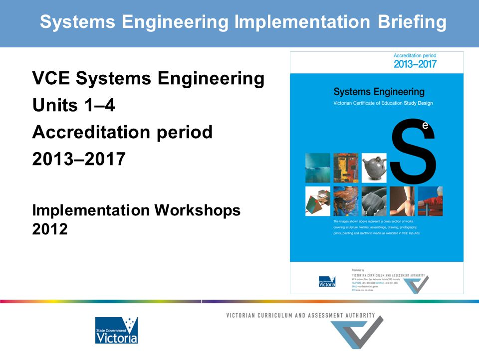 Systems Engineering Implementation Briefing
