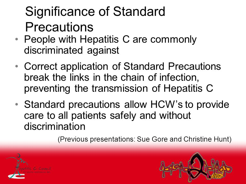 Significance of Standard Precautions