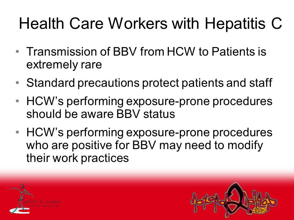 Health Care Workers with Hepatitis C