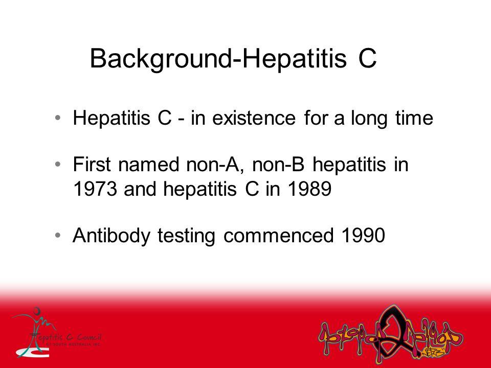 Background-Hepatitis C