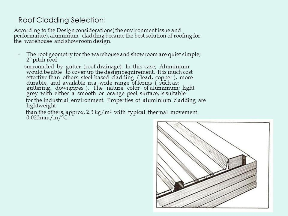 Roof Cladding Selection:
