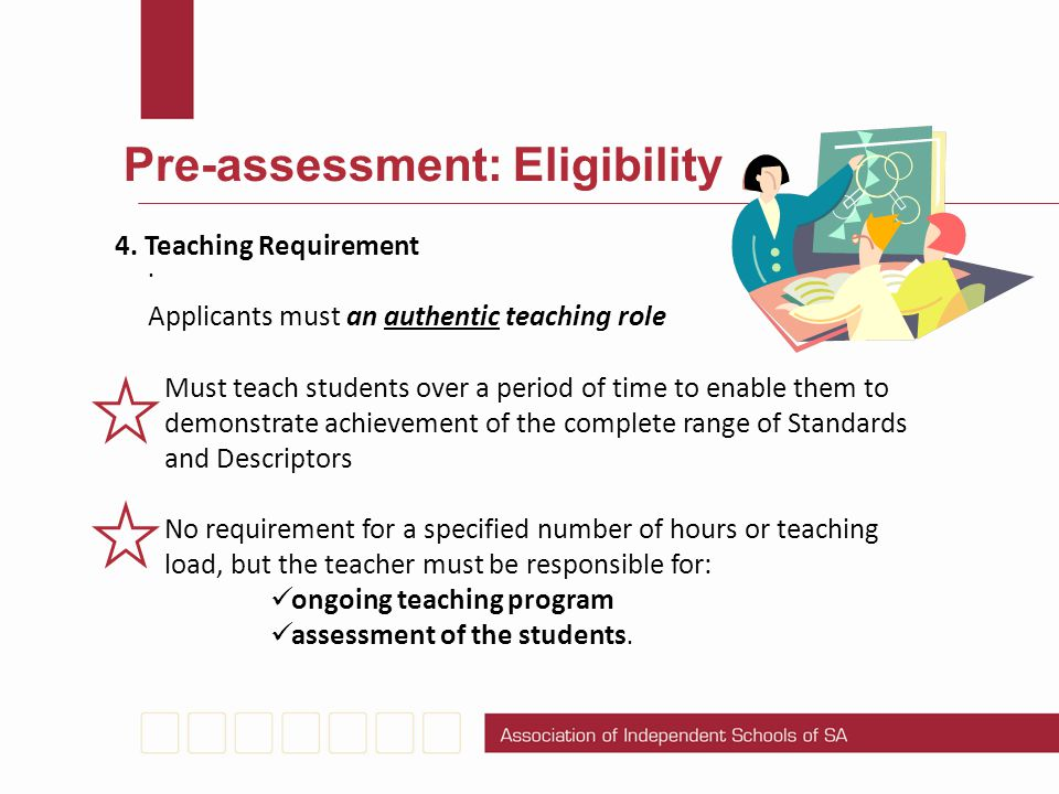 Pre-assessment: Eligibility