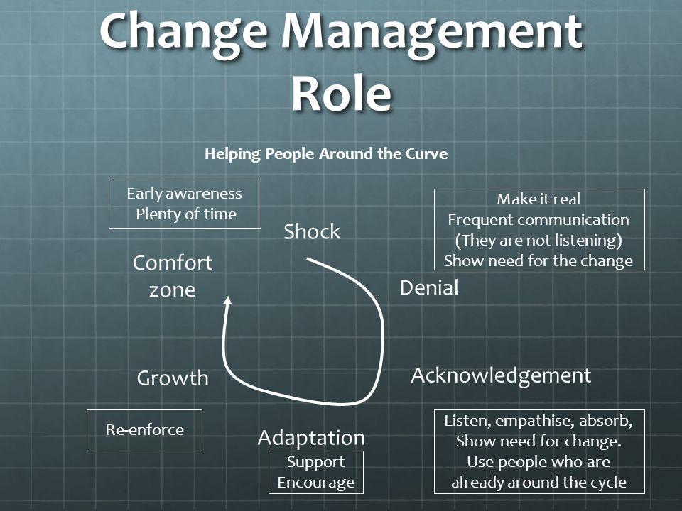 Change Management Role