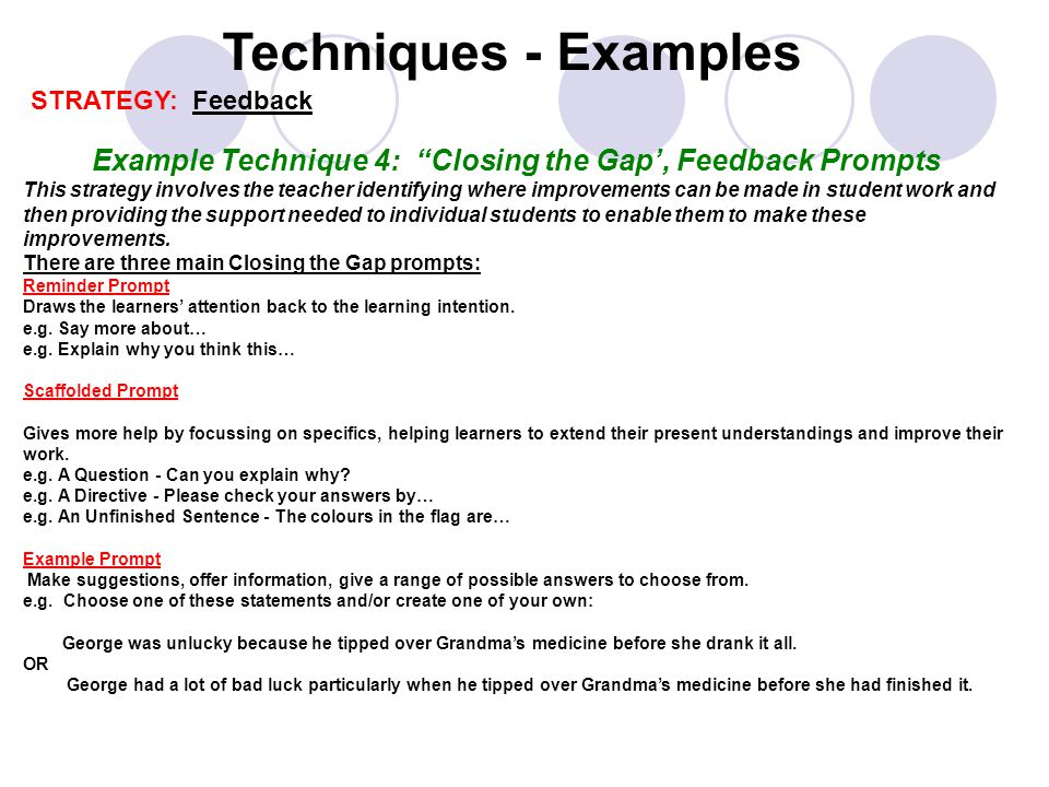 explain how to give constructive feedback to learners following assessment