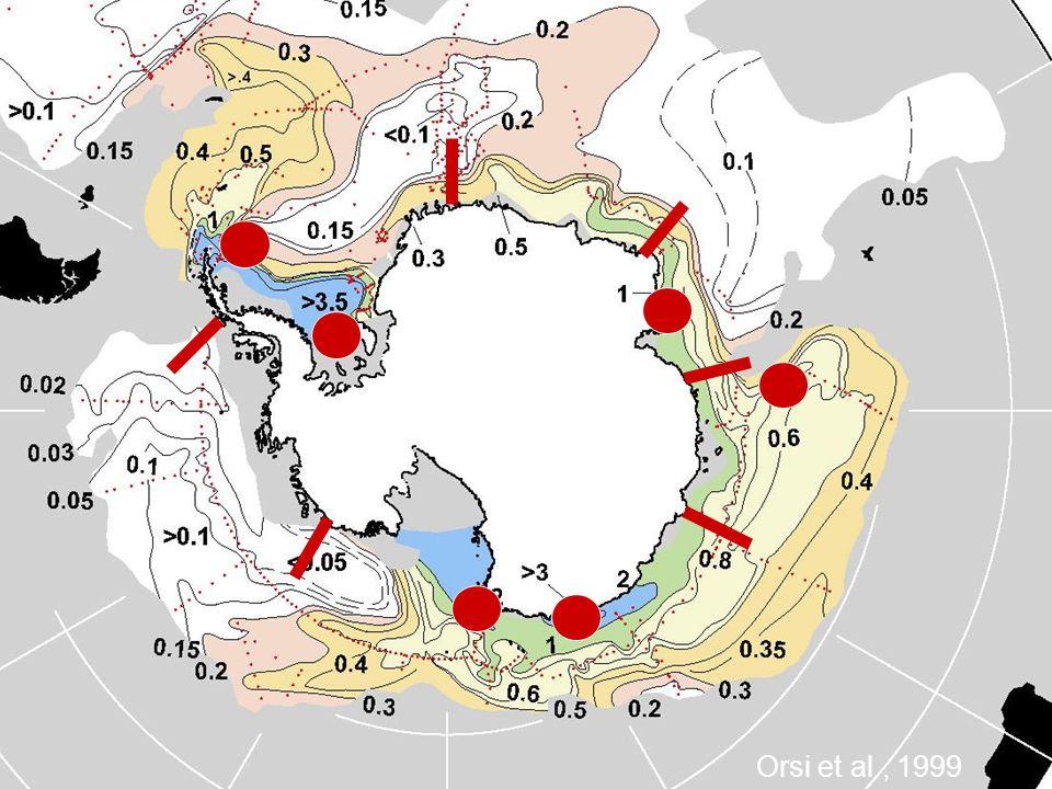 CFC-11 Orsi et al., 1999