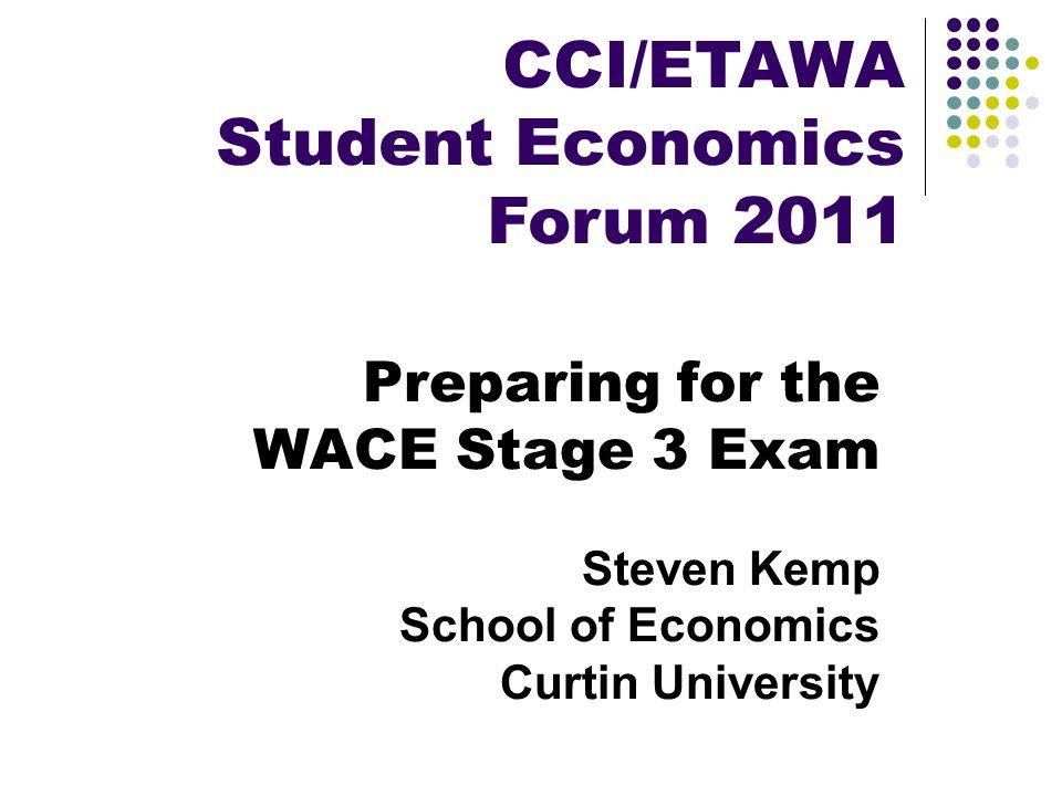 Student Economics Forum 2011
