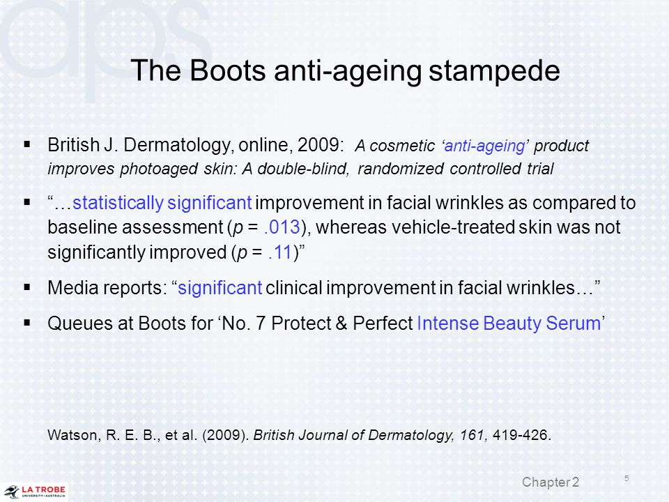 The Boots anti-ageing stampede
