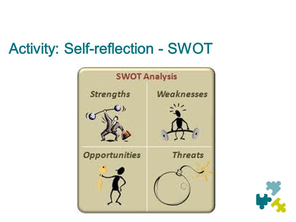 Activity: Self-reflection - SWOT
