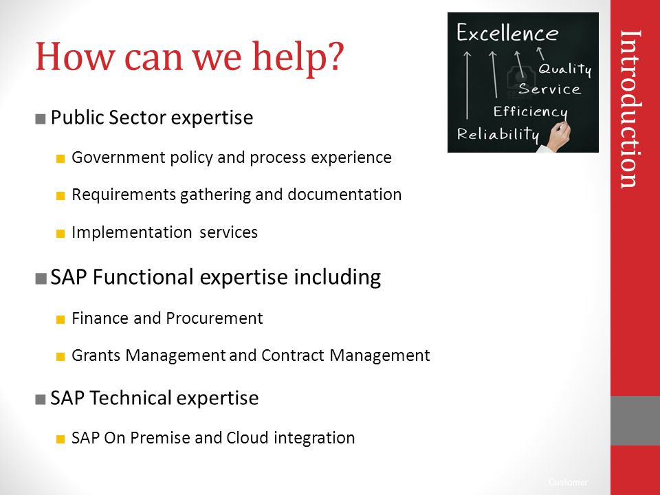 How can we help Introduction SAP Functional expertise including