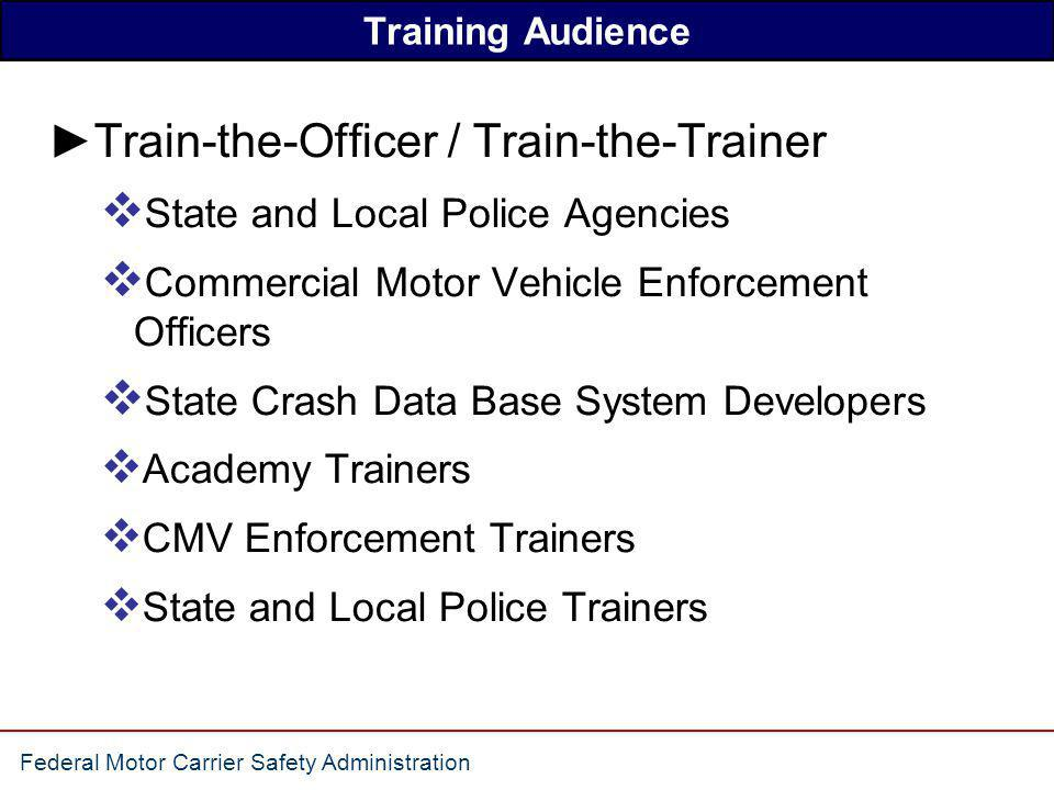 Train-the-Officer / Train-the-Trainer