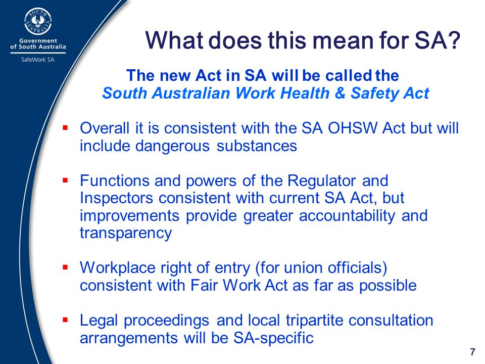 What does this mean for SA