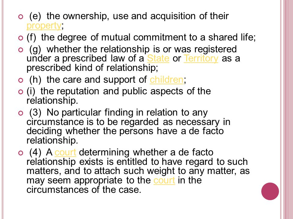 (e) the ownership, use and acquisition of their property;