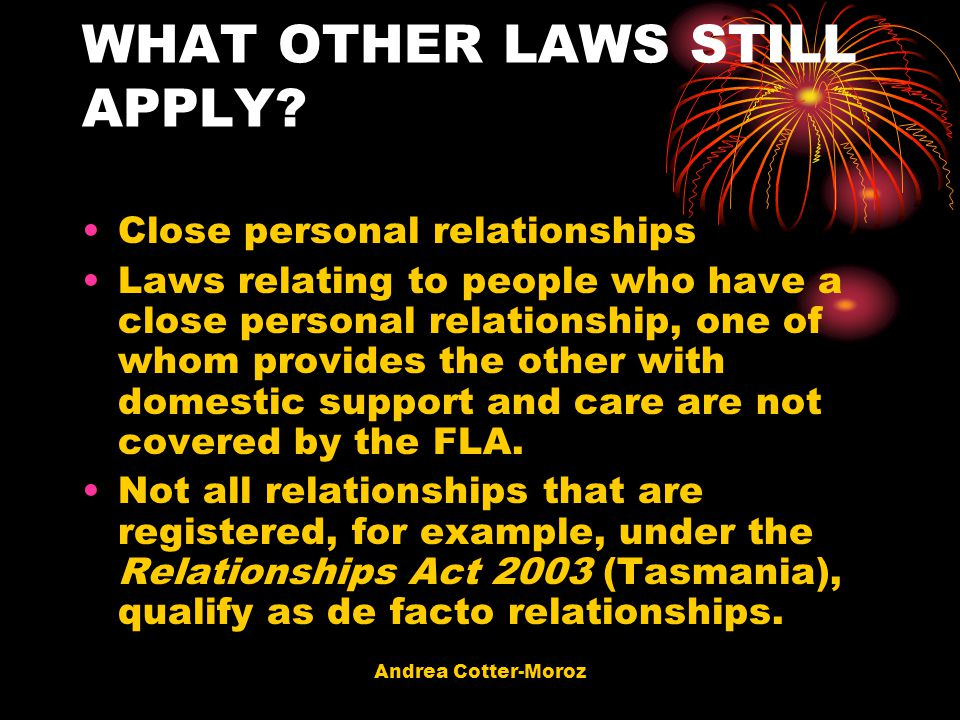 WHAT OTHER LAWS STILL APPLY